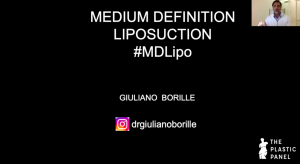 Webinar: Medium Definition Liposuction. Dr. Guiliano Borille