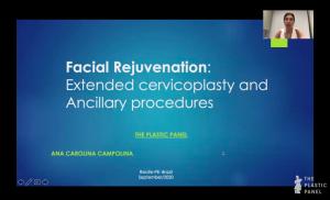 Webinar: Facial Rejuvenation: Extended Cervicoplasty and Ancillary Procedures. Dr. Ana Carolina Campolina