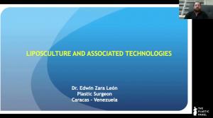 Webinar: Liposculpture and Associated Technologies. Dr. Edwin Zara